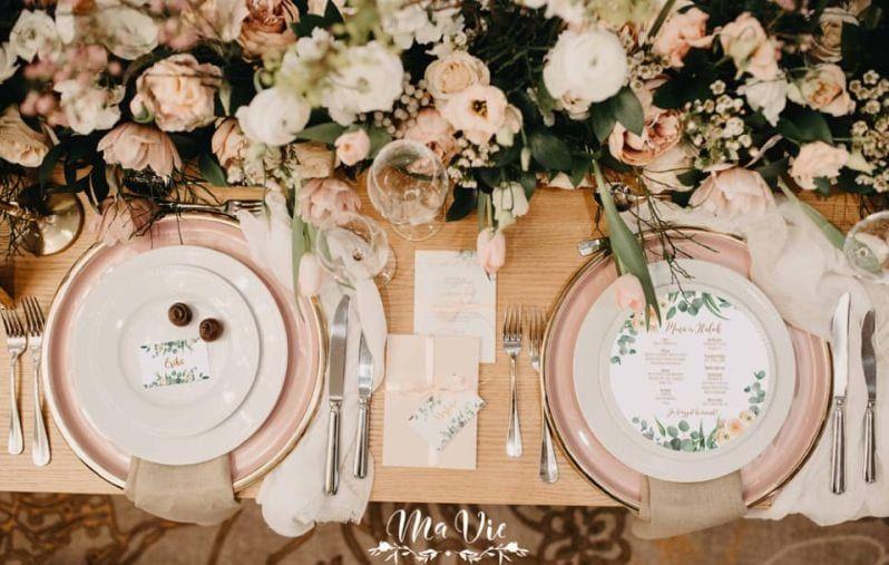 Esküvői vacsora ültetési etikett